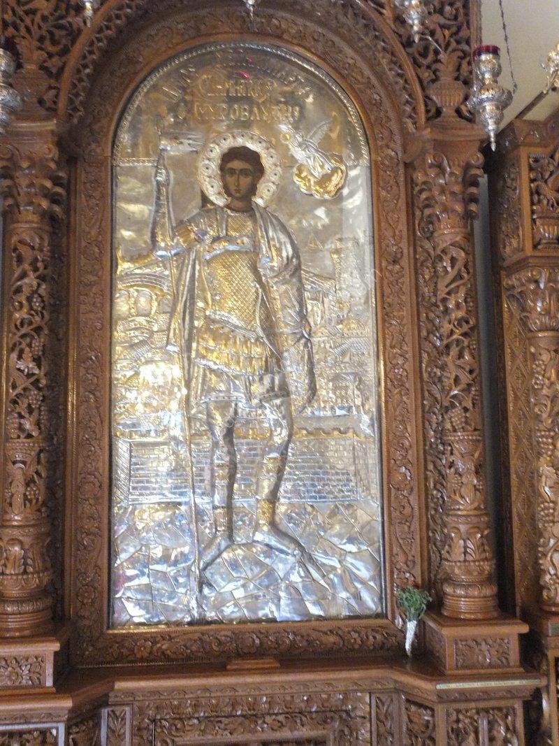 Icon, Church of St Demetrius, Thessalonica