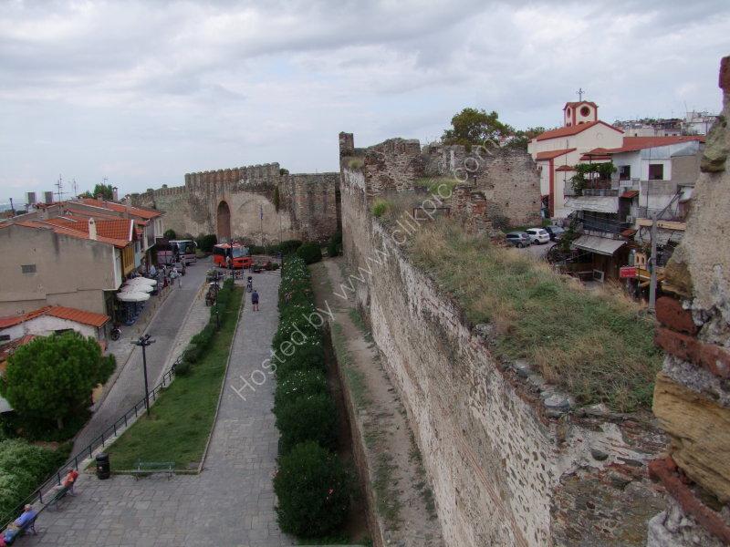 Castle Walls, Thessalonica