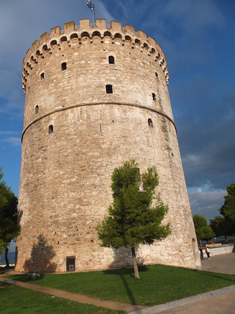 Bloody Tower now known as White Tower, Thessalonica