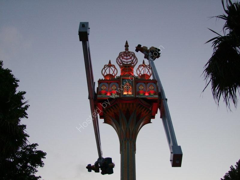 Frightening Ride!