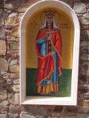 Mosaic at Tomb of Archbishop Makarios III, Troodos Mountains