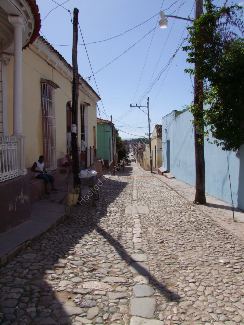Typical Street, Trinidad