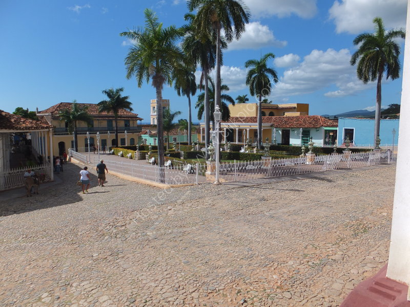 Parque Cespedes, Trinidad