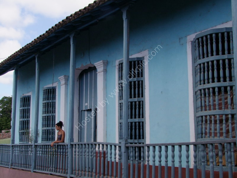 Typical Spanish Style House, Trinidad
