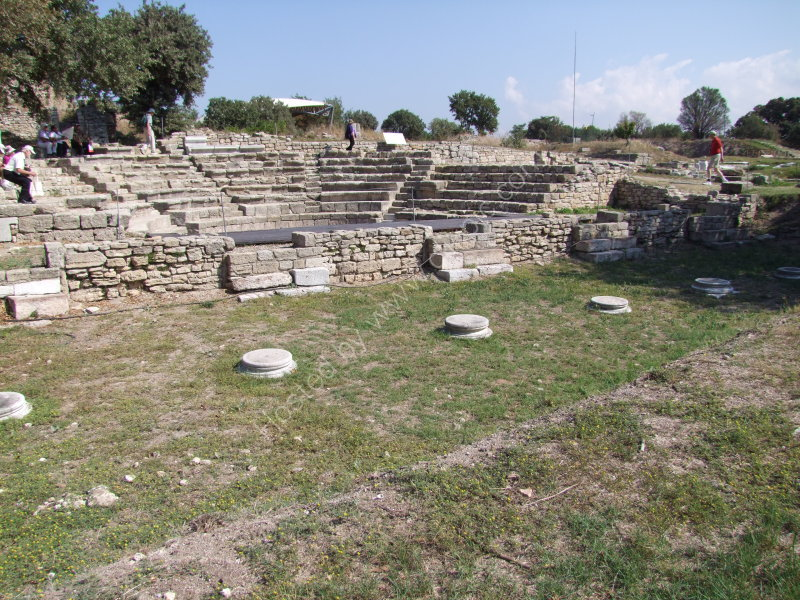 Roman Assembly Place, Troy, Canakkale