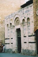 Facade of a Church, Lucca, Tuscany