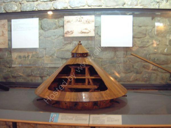 Leonardo da Vinci Model, Leonardo da Vinci Museum, Tuscany