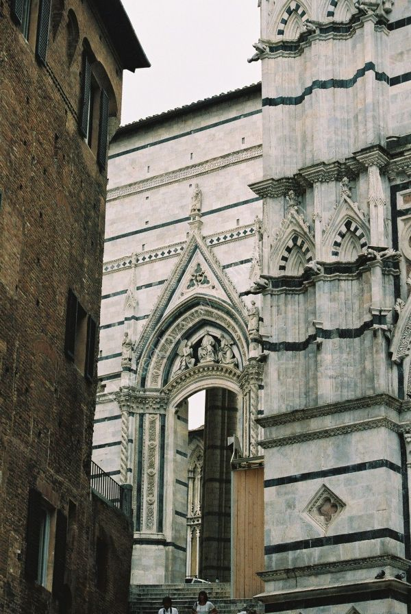 Part of The Duomo, Sienna, Tuscany