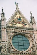 The Facade of The Duomo, Sienna, Tuscany