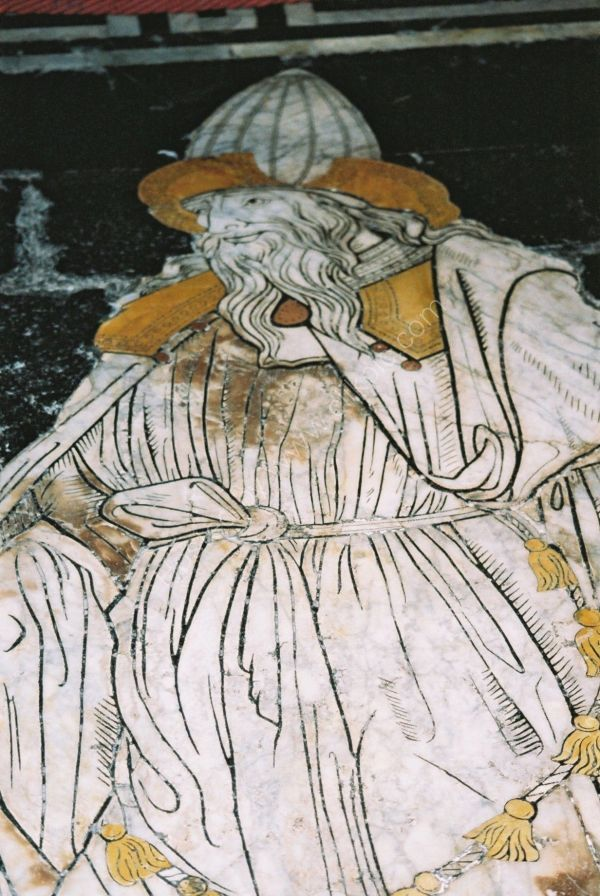 Marble Floor in The Duomo, Sienna, Tuscany