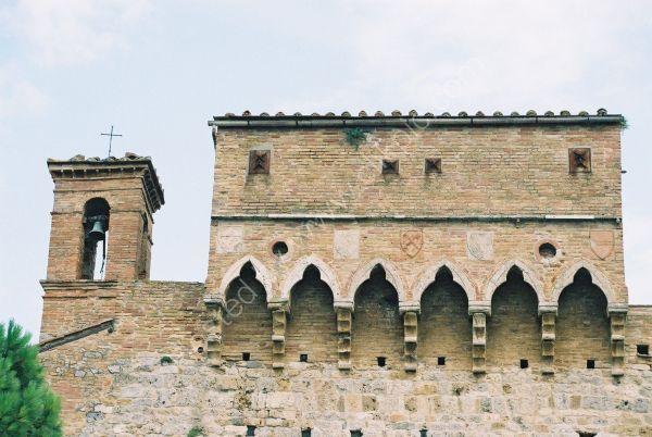 Entrance Wall, San Gimignano, Tuscany