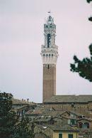 Tower of Loggia della Mercanzia, Sienna, Tuscany