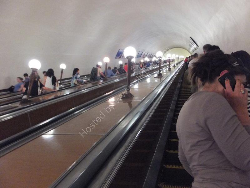 Deep Escalator, Metro, Moscow