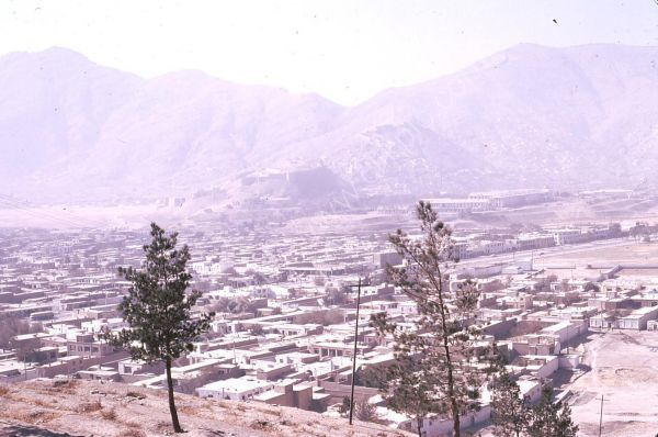 View over Kabul City