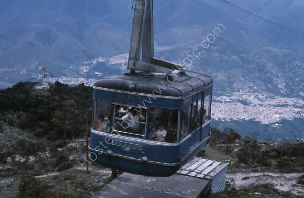 Cable Car, Merida, South American Andes