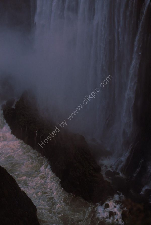 Bottom of Victoria Falls, Livingstone
