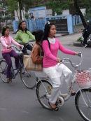 Vietnamese Girls on Bicycles