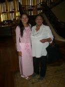 """Vietnamese Guide in Traditional Dress, Nguyen Thi Son """"Sonny"""""""