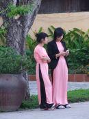 Vietnamese Ladies in Traditional Dress