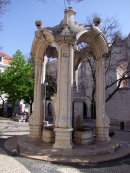 Old Stone Water Fountain
