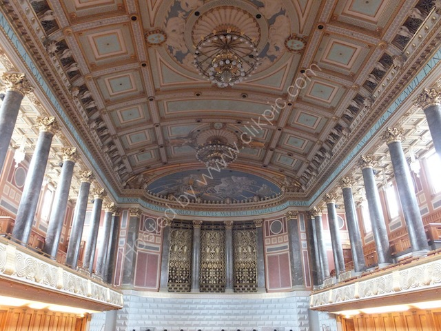 Interior of Concert Hall, Kurhaus, Wiesbaden