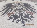 Mosaic Outside Rauthaus, Wiesbaden