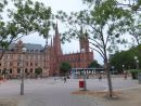 Town Hall & Church from Market Square, Wiesbaden