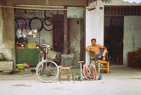 Bicycle Repair Shop, Old Town, Wuxi