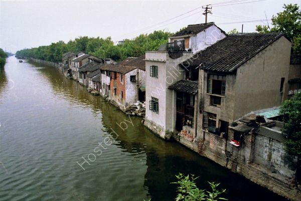 Typical Canal Side Dwellings, Old Town, Wuxi
