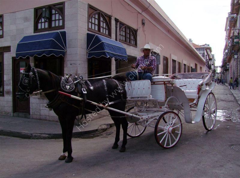 Airconditioned Taxi! Obispo Street, Havana