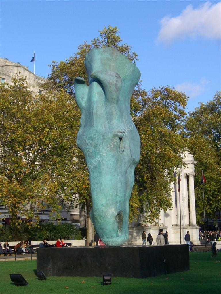Bronze Sculpture, Marble Arch, London