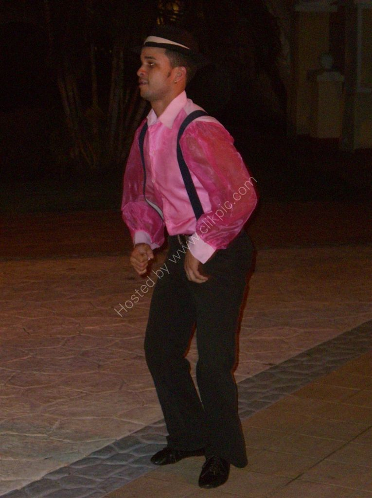 Dancer, Buena Vista Social Club, Hotel Paradisus Princesa del Mar, Varadero