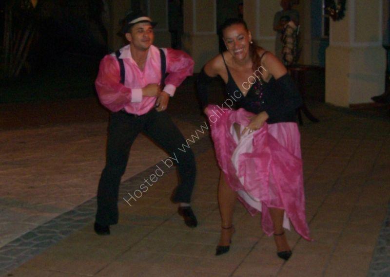 Dancers, Buena Vista Social Club, Hotel Paradisus Princesa del Mar, Varadero