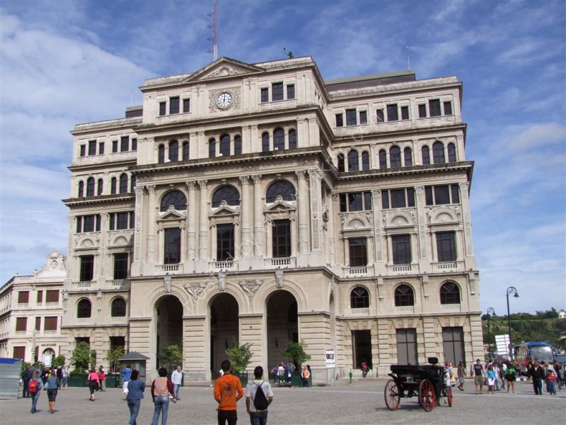 Bank Building, Plaza San Francisco de Asis, Havana