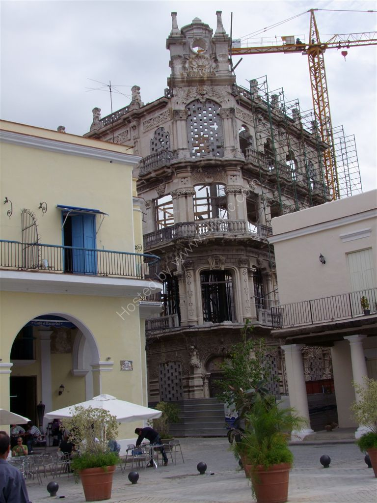 Building Reconstruction, Plaza Vieja, Havana