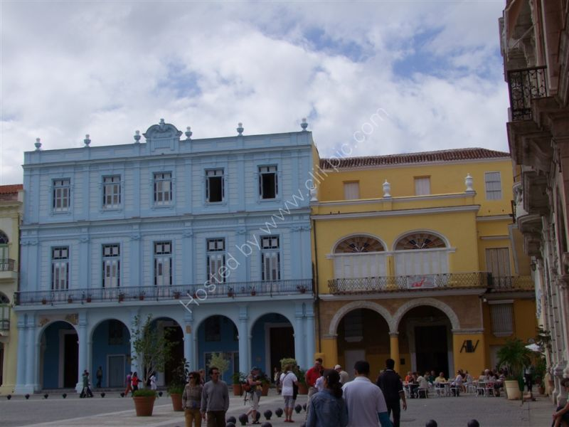 Refurbished Buildings, Plaza Vieja, Havana