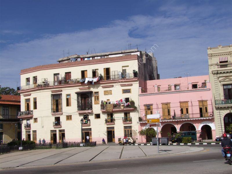 Refurbished Buildings, San Pedro, Havana