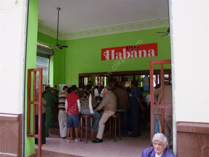 Cafe Habana, Mercaderes Street, Havana