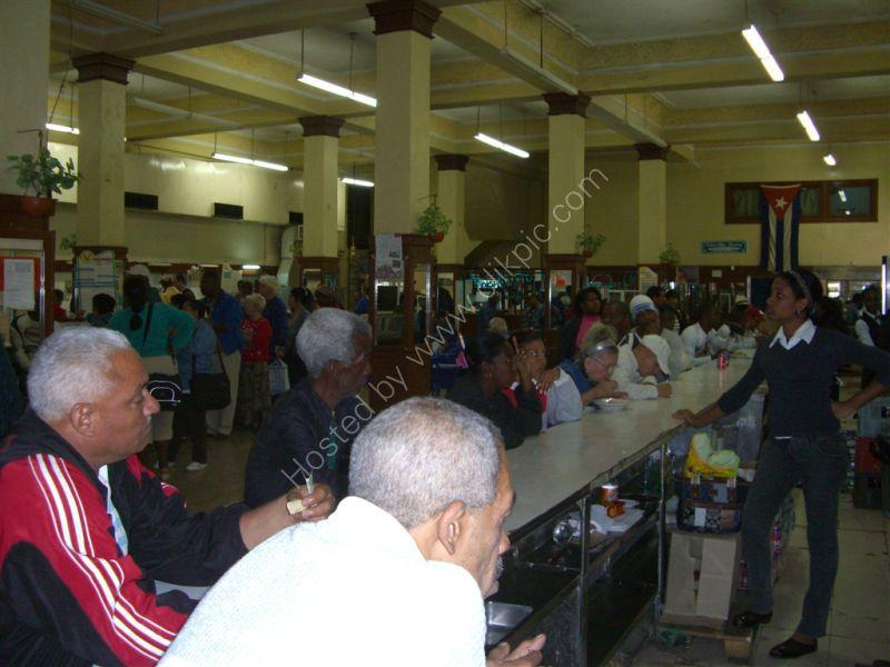 Cuban Caffeteria, Obispo Street, Havana