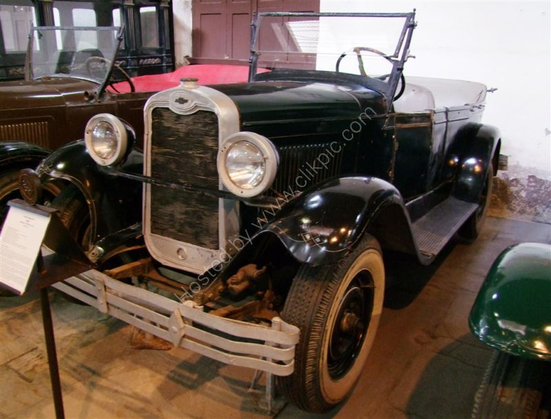 Chevrolet 1927 Model Capitol (AA)