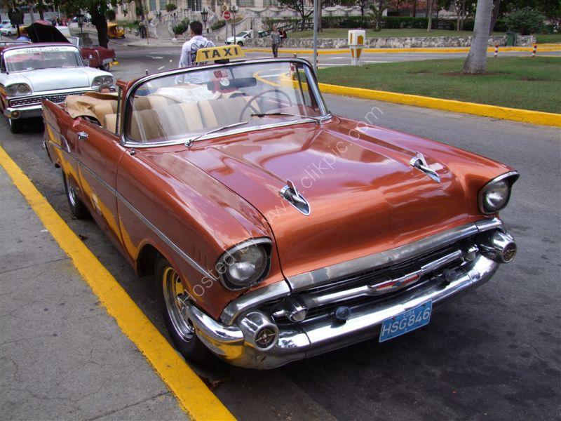 Chevrolet Taxi, Hotel National de Cuba, Havana