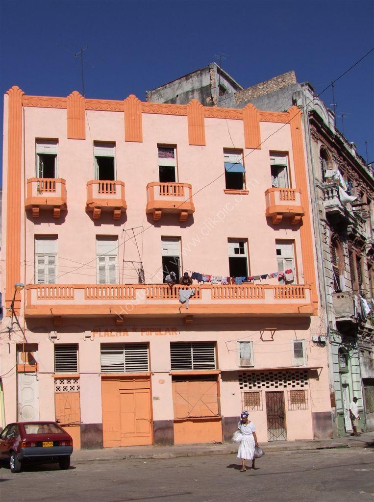 Colourful Building, Havana