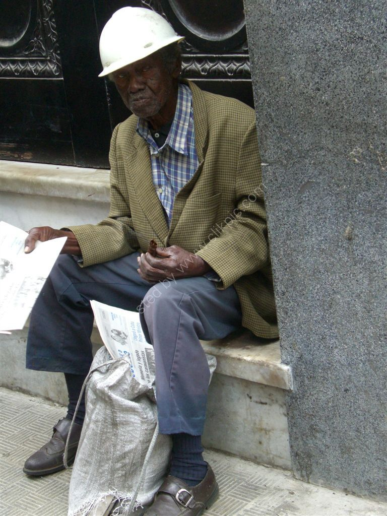 Cuban Worker, Obispo Street, Havana