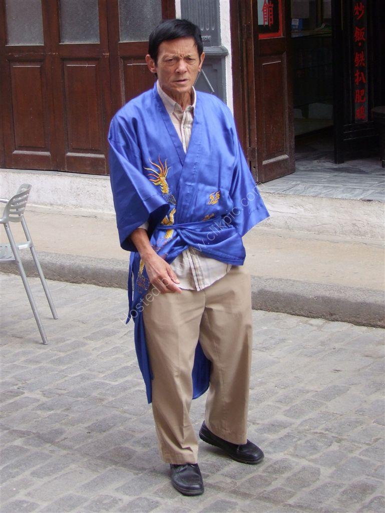 Cuban Chinese Restauranteur, Mercaderes Street, Havana