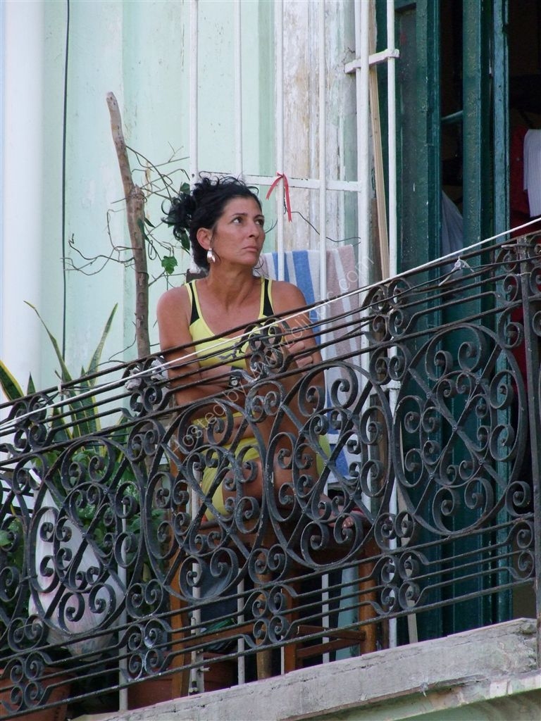 Cuban Deep in Thought!, Havana