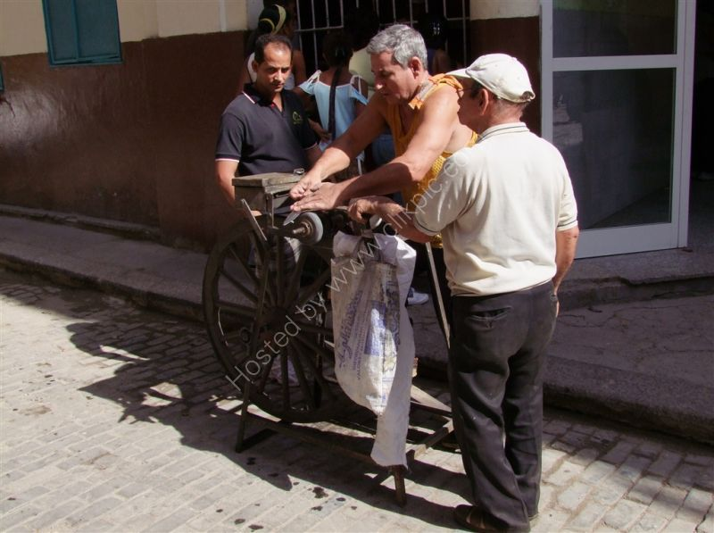 Mobile Knife Sharpener, Havana