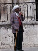 Cuban, Cathedral Square, Havana