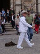Cuban Man, Cathedral Square, Havana