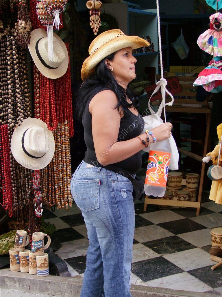 Cuban Shopkeeper, Obispo Street, Havana