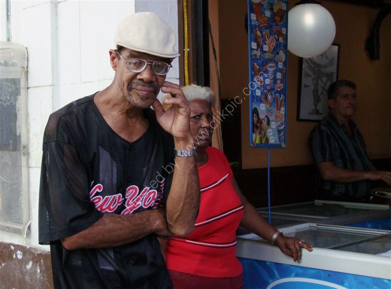 Cuban Characters, Obispo Street, Havana